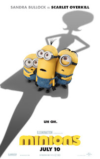 Sinopsis Film Minions Scarlet Overkill, Sandra Bullock is Scarlet Overkill. Film Kartun 3D
