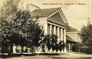 Stajnie pałacowe Sanguszków w Sławucie