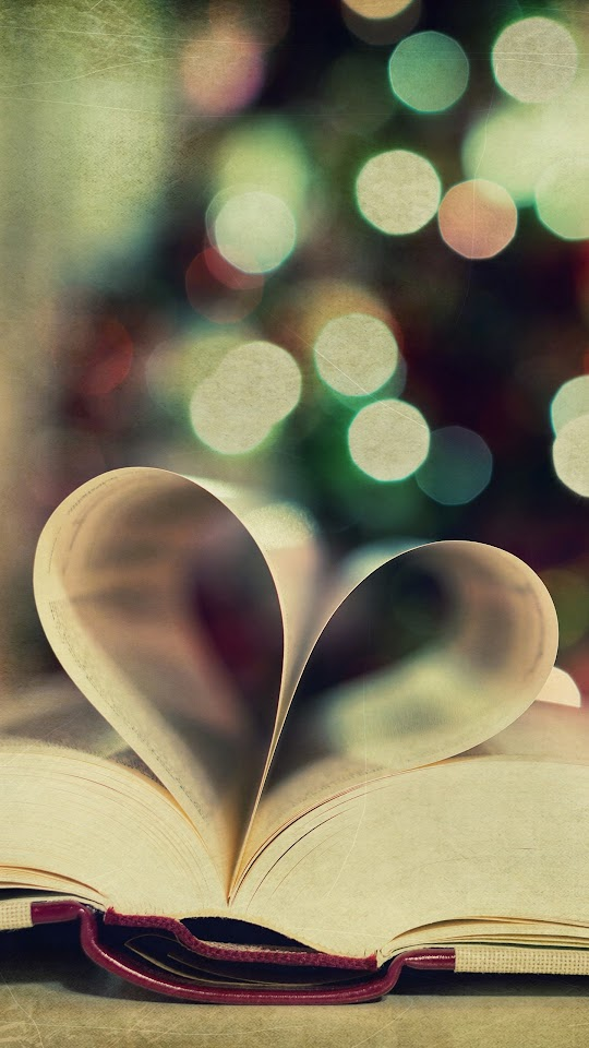 Creative Book Love   Galaxy Note HD Wallpaper