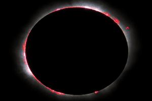 La cromosfera, una de las capas en las que se divide el astro rey