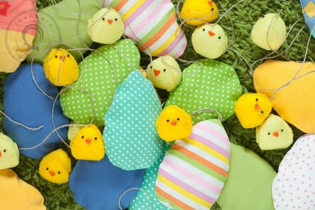 Joanka Z Blog O Szyciu Szyjemy Wielkanocne Dekoracje Kurczaki I