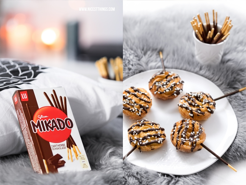 Mikado Sticks Rezept Churro Pops für den Serienabend
