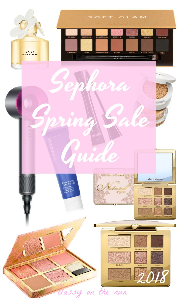 sephora spring sale dates and code