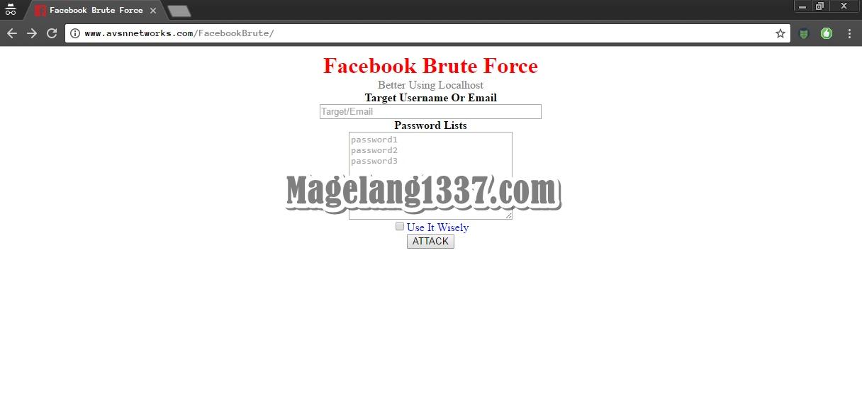 Cara Hack Akun Facebook Dengan Brute Password - CowoKerensTeam