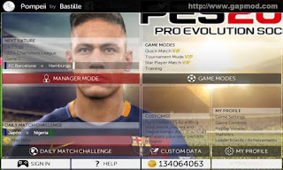Download FTS Mod PES 2016 Round by Reza Android
