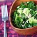 Raw Kale Avocado Salad