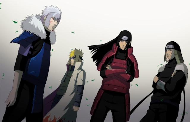 Naruto Shippuden 4 Hokage