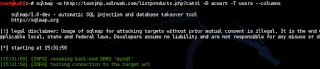 Hacking Website menggunakan SQLMap Kali Linux