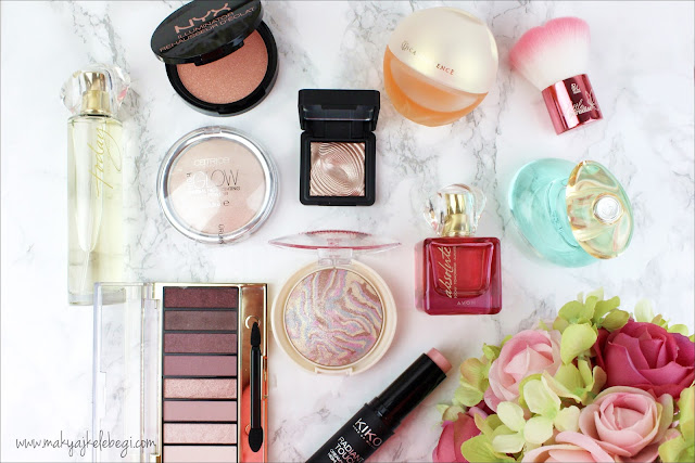 Karışık kozmetik alışverişi