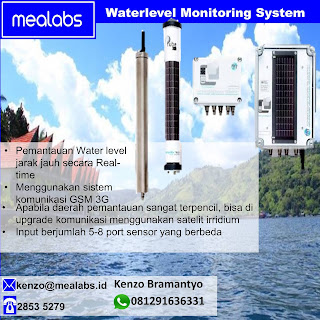 Pemantau Level Air, Tinggi Muka Air-Tanah Jarak Jauh