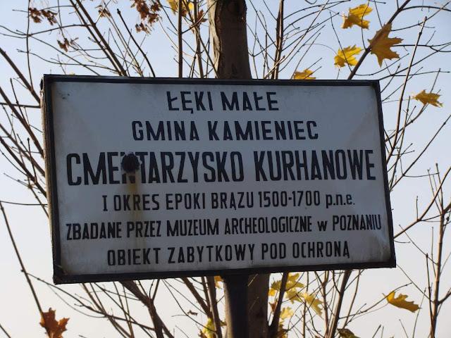 """""""Wielkopolskie piramidy"""" - cmentarzysko kurhanowe z epoki bronzu we wsi Łęki Małe"""
