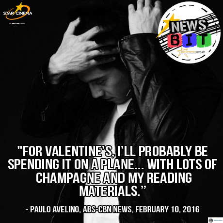 Find out where will Paulo Avelino spend Valentine's Day!