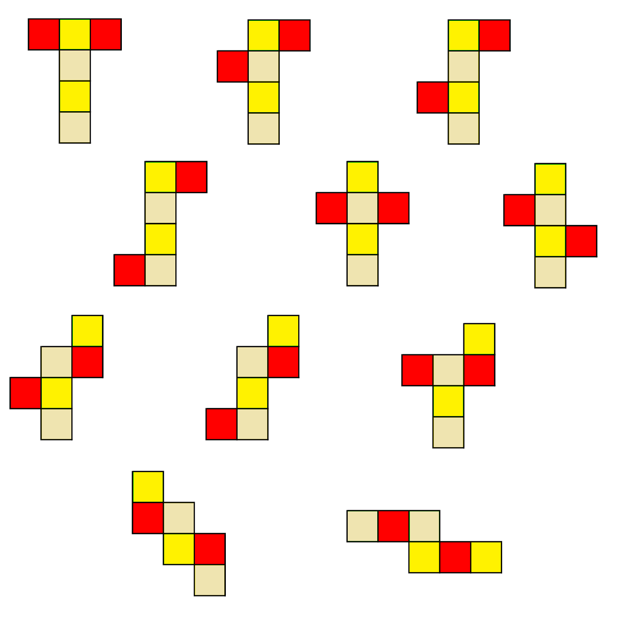 Nets Of Cube on How To Add Fractions 1 3 4
