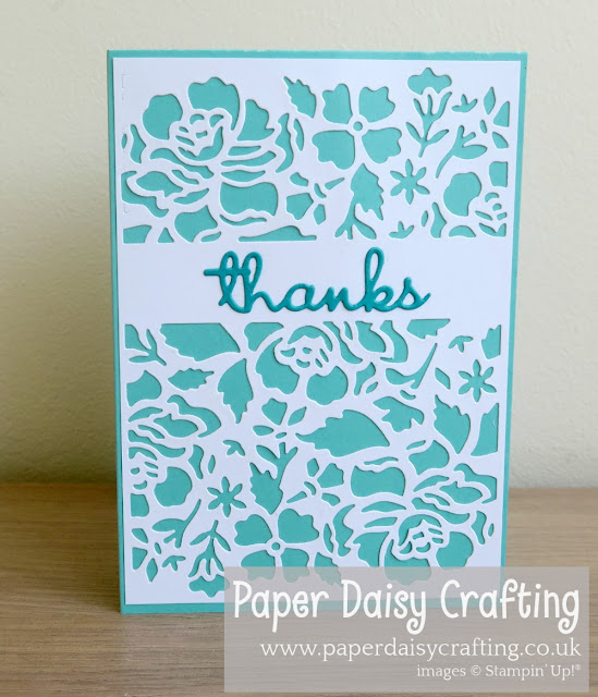 Stampin Up detailed Floral