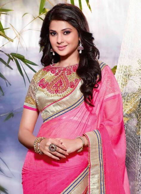 Jennifer Winget in Saree