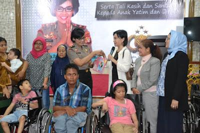 Kompol Netty Rosdiana Siagian Raih Imaculata Award