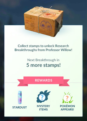 pokemon go breakthrough reward