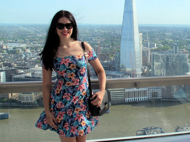 View from the Sky Garden, overlooking The Shard