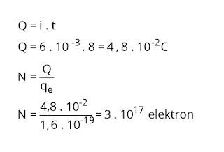 Jawaban soal fisika tentang listrik dinamis nomor 2