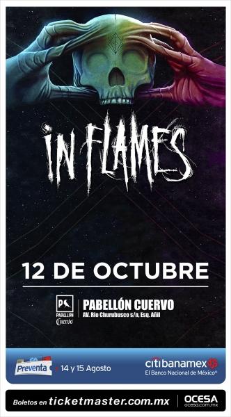 In Flames en México