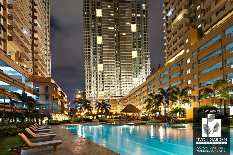 Tivoli Garden Residences Swimming Pool Area