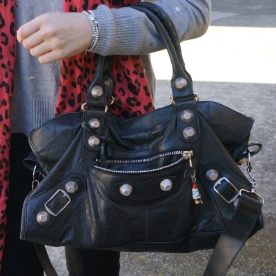 Balenciaga part time in black 2010 with SGH on arm | awayfromtheblue