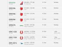 Harga Tiket Pesawat Bandung Surabaya