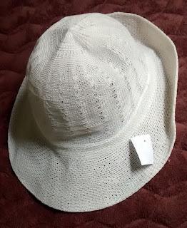 chapéu rendado tam U