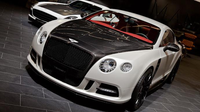 Wallpaper: Bentley Continental GT Mansory