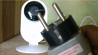 1. Mematikan Xiaomi Ants Xiaoyi Smart Camera dengan Mencabut Sumber Listrik