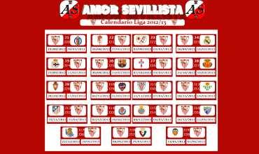 Calendario Sevilla.Amor Sevillista Lleva El Calendario Del Sevilla F C A Tu Escritorio