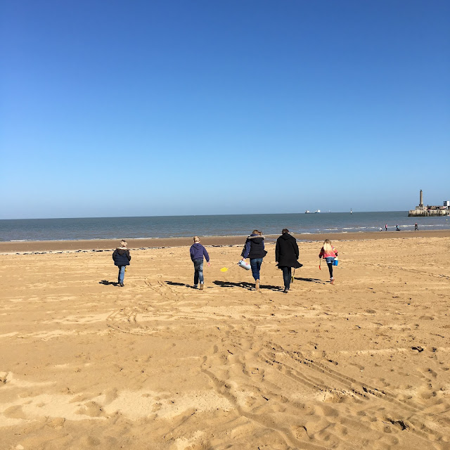 Sandy beach at Margate UK