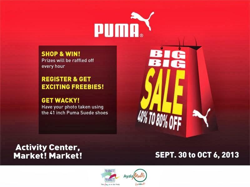 9b2580155f87 Manila Shopper  Puma Big Big SALE at Market Market  Sept-Oct 2013