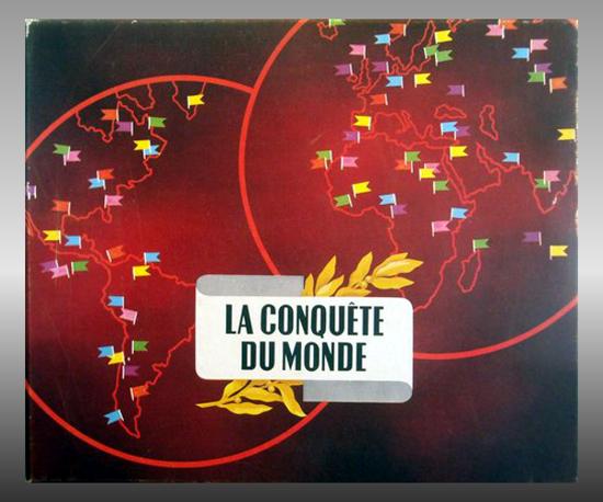 La Conquête du Monde, box front