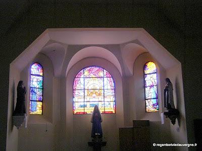 Saint-Yorre, église saint-Eloi.