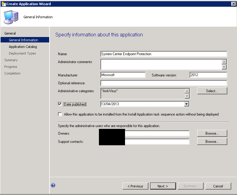 Install System Center Endpoint Protection (SCEP) using the