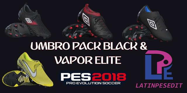 Umbro Pack Black & Steam Elite Neymar PES 2018
