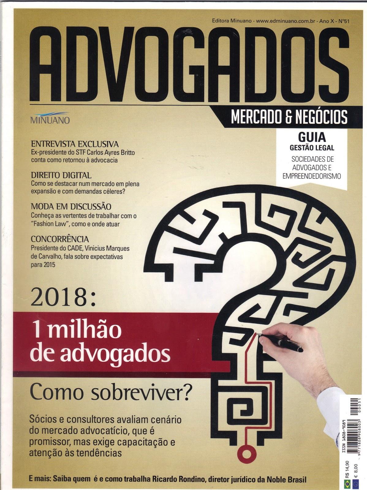 e3f8f5302 FASHION LAW VS: Direito da Moda na Revista Advogados Mercado e Negócios