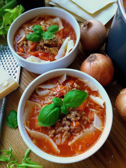 Zupa lazania / Lasagne Soup