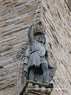 Estatua de William Wallace en el monumento