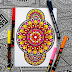 Mengenal Mandala Art dan Contoh karya Mandala Art Keren