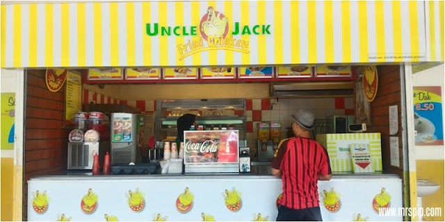 Review Makan Ayam Uncle Jack Fried Chicken