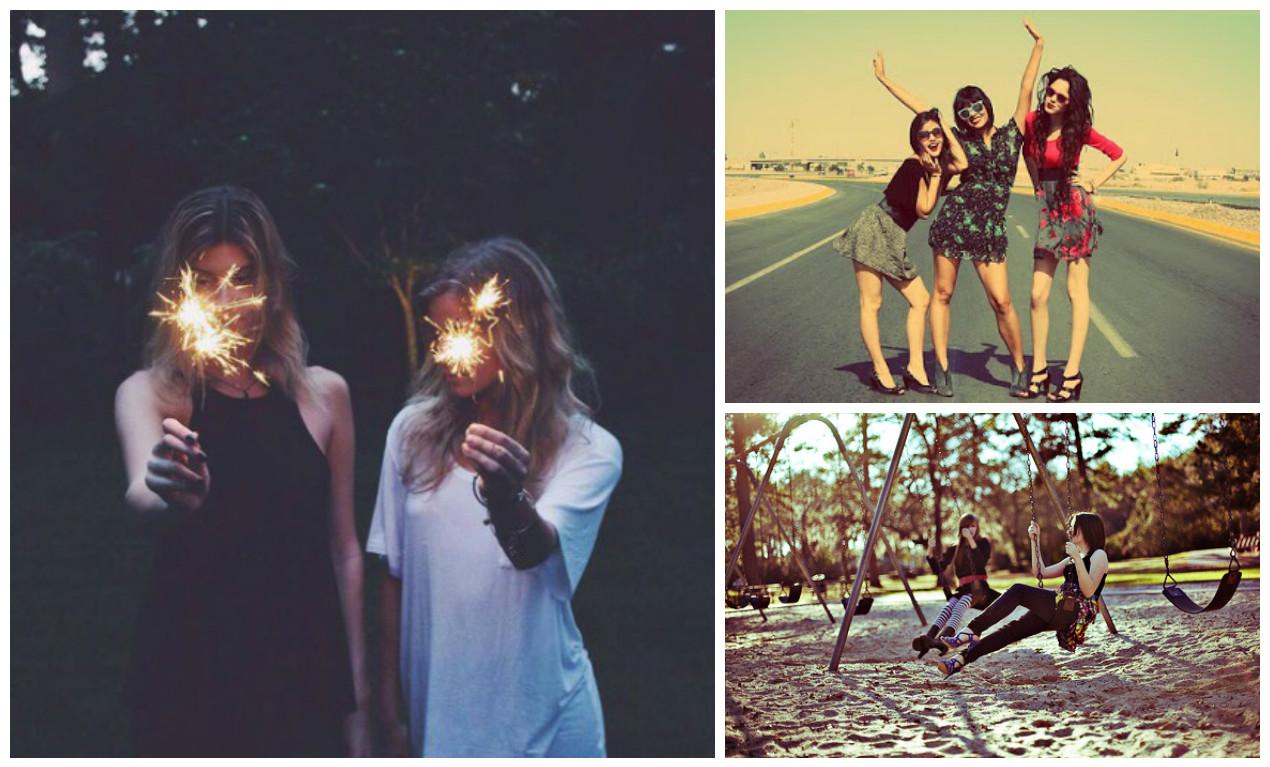 Inspirações para Fotos de Melhores Amigas
