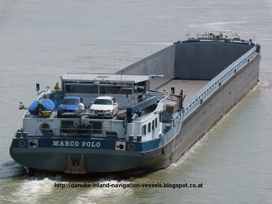 Danube River Inland Water Cargo Vessels: MARCO POLO (02327327)