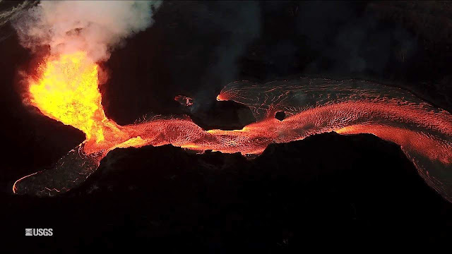 Kilauea's Heat Triggering Mass Amounts of Acid Rain