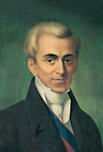 Ioannis Kapodistrias First head of independent Greece