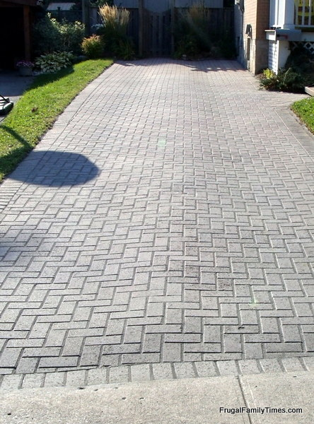 How to make a weed free brick driveway that stays that way after weed free brick paver driveway solutioingenieria Image collections