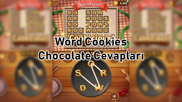 Word Cookies Chocolate Cevaplari