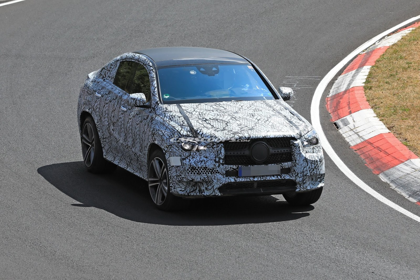 2020 Mercedes Benz Gle Coupe Spy Shot Ms Blog