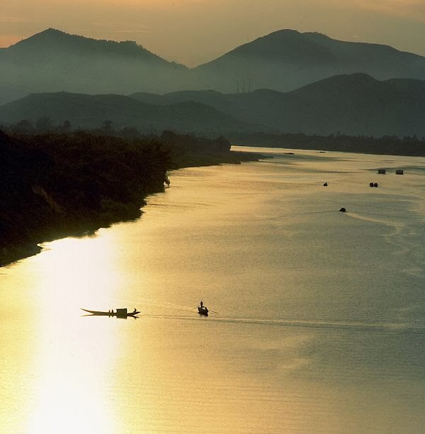And quiet flows the Huong River 13